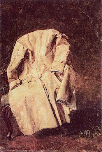 A Coat | Adolph von Menzel | oil painting