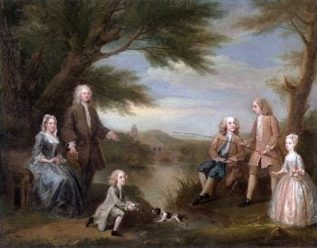 The Jeffreys Family | William Hogarth | oil painting