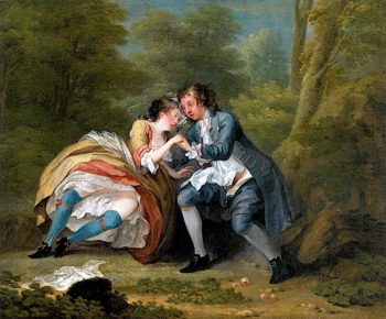 After (outdoor) | William Hogarth | oil painting