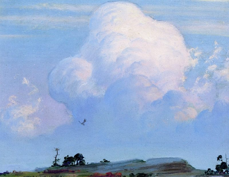 Bleak Rock | Charles Courtney Curran | oil painting