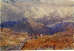Welsh Landscape | David Cox | oil painting