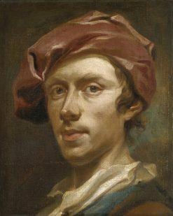 Self Portrait   Olof Arenius   oil painting