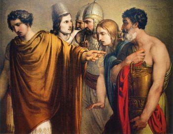 The Death of Abradatas | Francesco Paolo Hayez | oil painting