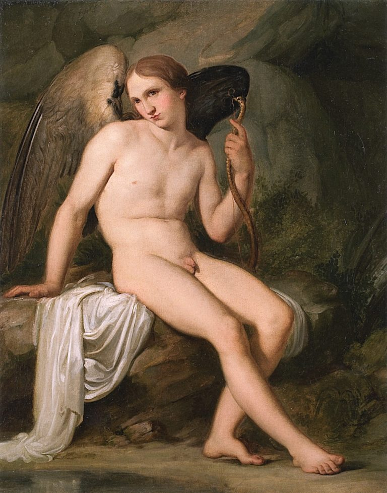 Cupid   Francesco Paolo Hayez   oil painting