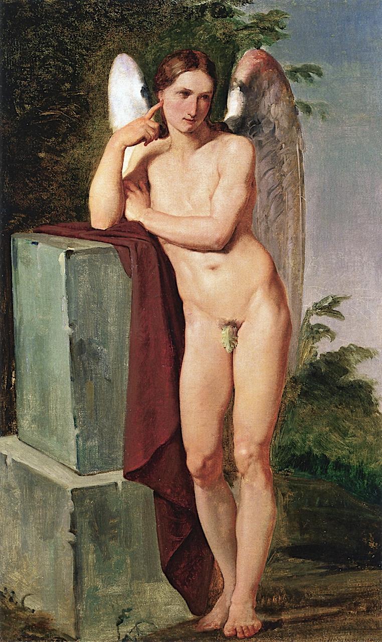 Cupid | Francesco Paolo Hayez | oil painting