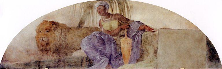 Africa | Francesco Paolo Hayez | oil painting