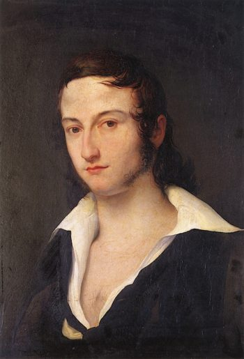 Portrait of Carlo Della Bianca | Francesco Paolo Hayez | oil painting