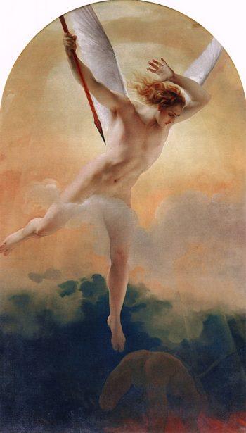 Archangel Saint Michael | Francesco Paolo Hayez | oil painting