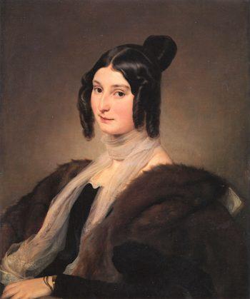 Portrait of Contessa Clara Maffei | Francesco Paolo Hayez | oil painting