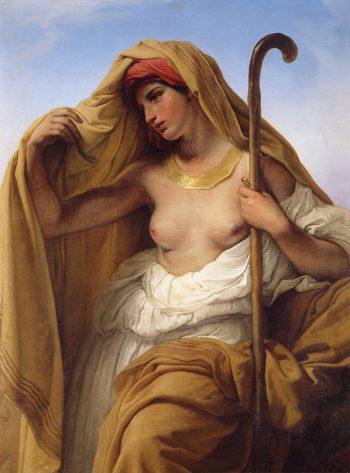 Tamar of Judah | Francesco Paolo Hayez | oil painting