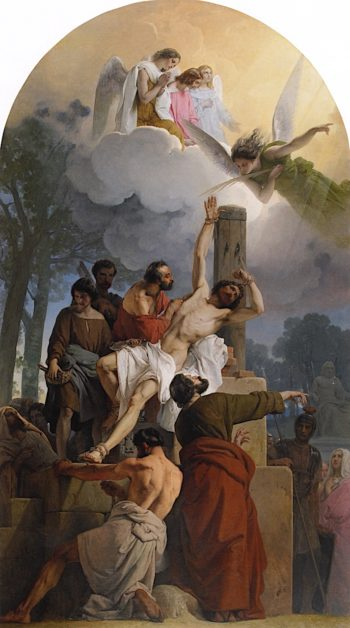 The Martyrdom of Saint Bartholomew | Francesco Paolo Hayez | oil painting