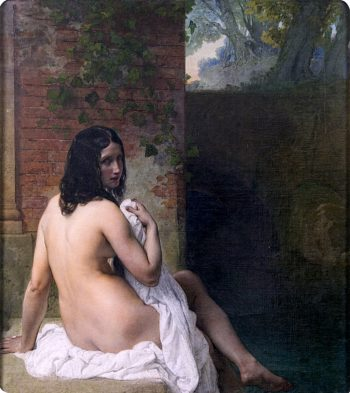 Bather | Francesco Paolo Hayez | oil painting