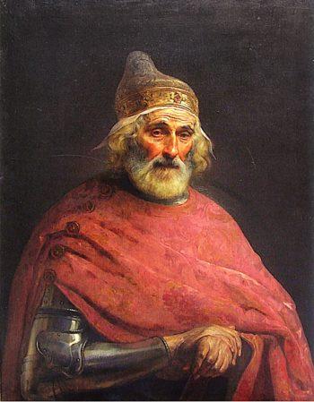Il doge Gritti | Francesco Paolo Hayez | oil painting