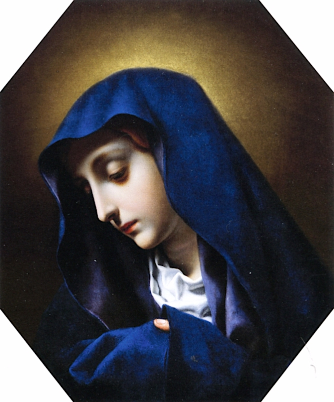Madonna of the Finger | Carlo Dolci | oil painting