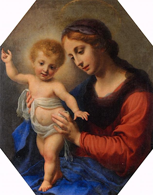 Madona delle Pietre Dure   Carlo Dolci   oil painting