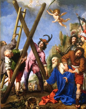 The Martyrdom of Saint Andrew | Carlo Dolci | oil painting