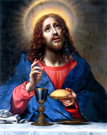 The Blessing Christ | Carlo Dolci | oil painting