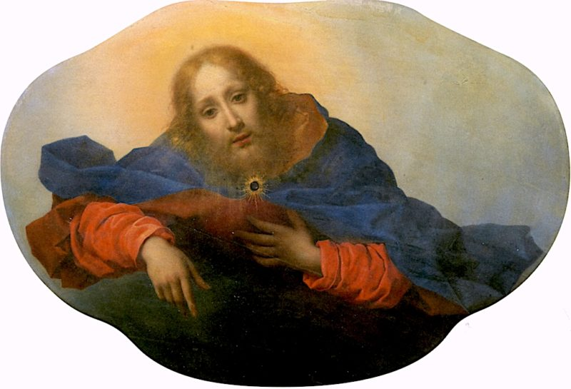 God the Father | Carlo Dolci | oil painting
