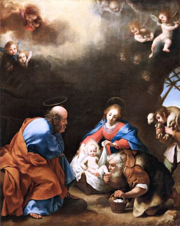 Adoration of the Shepherds | Carlo Dolci | oil painting