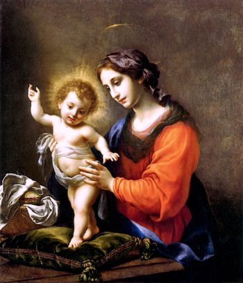 Virgin and Child | Carlo Dolci | oil painting