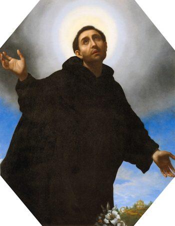 Saint Philip Benizi in Glory | Carlo Dolci | oil painting