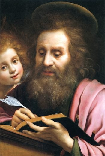 Saint Matthew and the Angel | Carlo Dolci | oil painting