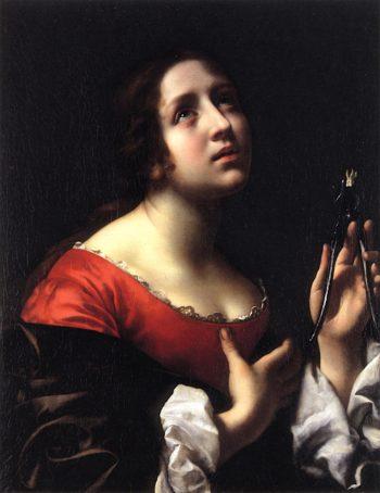 Saint Apollonia | Carlo Dolci | oil painting