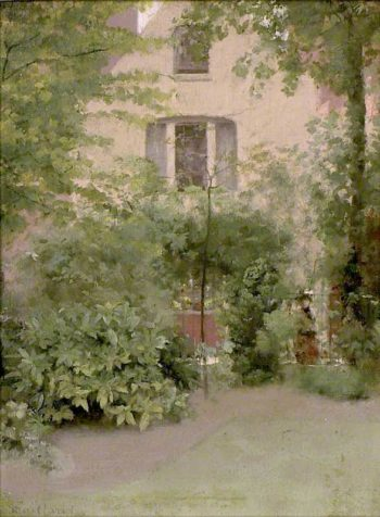 A House seen through Trees | Paul Fordyce Maitland | oil painting