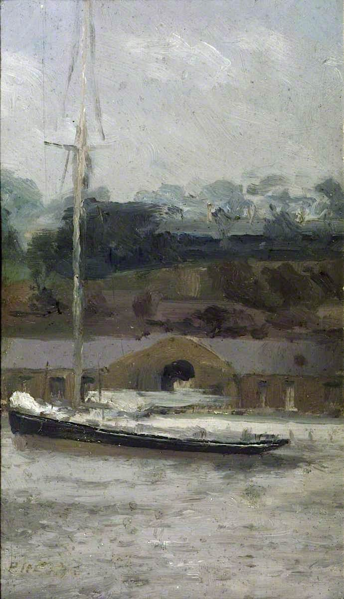A Yacht off Sheerness | Paul Fordyce Maitland | oil painting