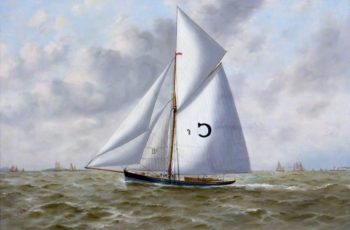 Marguerite Pilot Cutter | Thomas G. Purvis | oil painting