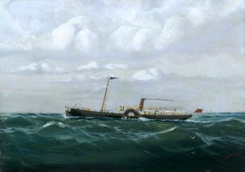 PS Marchioness | Thomas G. Purvis | oil painting
