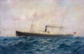 SS W. D. Cruddas | Thomas G. Purvis | oil painting