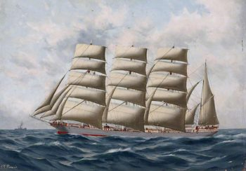 The Sir Joseph (Captain W. Richmond) | Thomas G. Purvis | oil painting