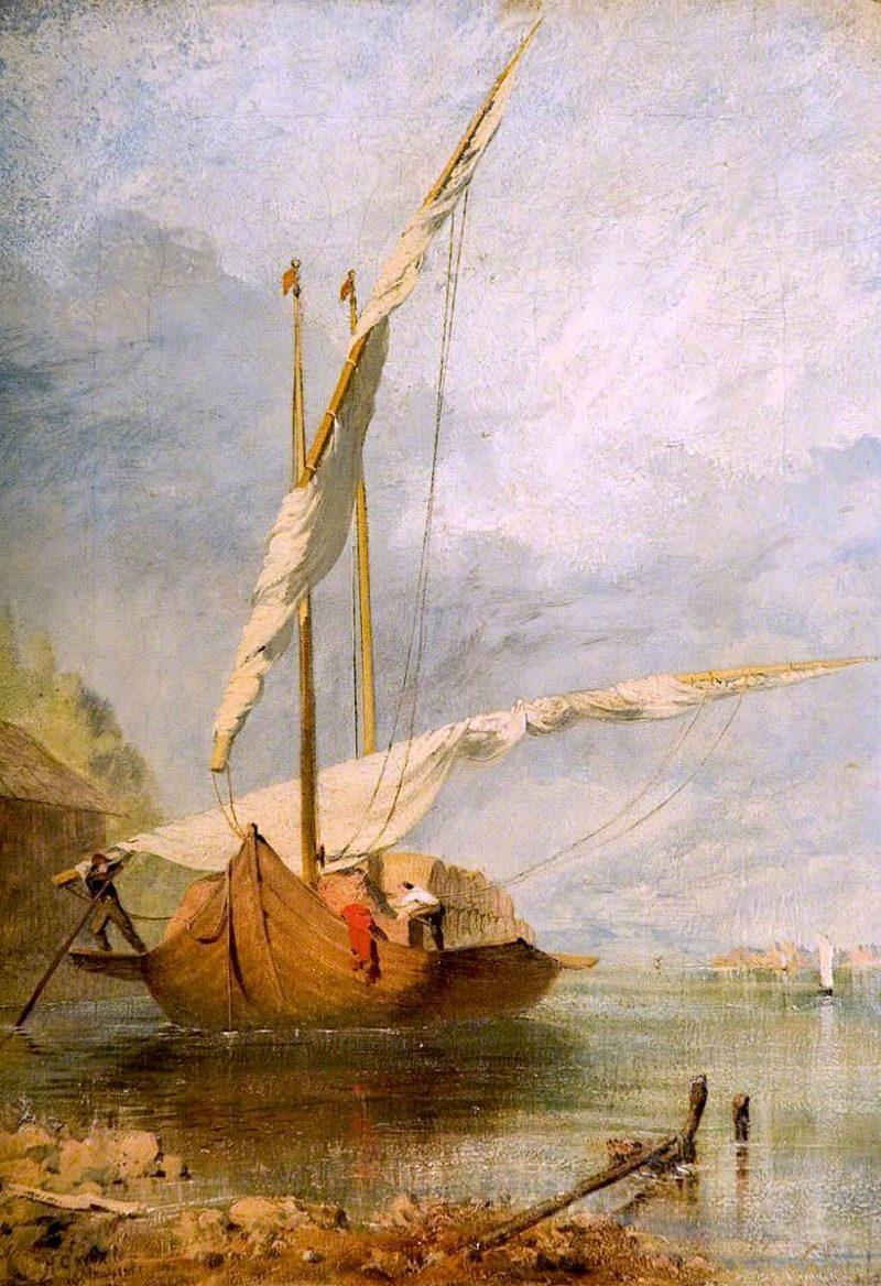 Coast Scene | Henry Clarence Whaite | oil painting