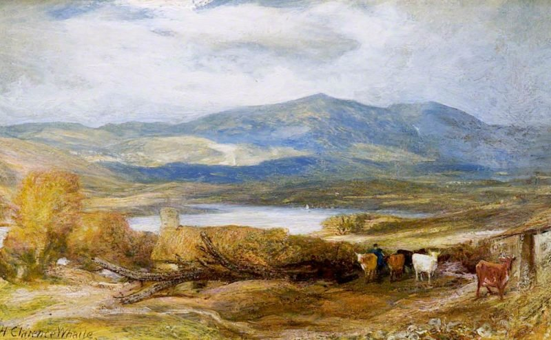 Conway Valley | Henry Clarence Whaite | oil painting
