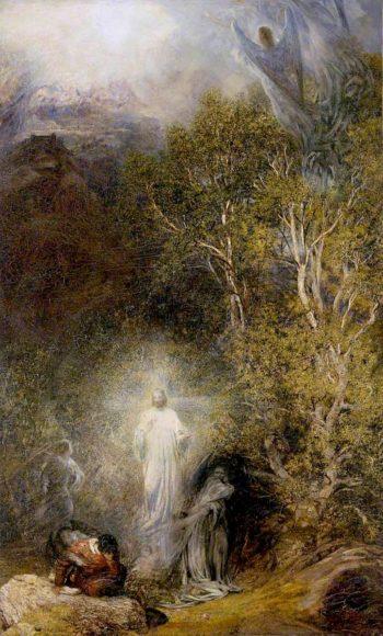The Awakening of Christian | Henry Clarence Whaite | oil painting