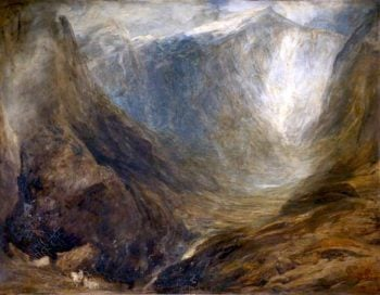 The Heart of Snowdon | Henry Clarence Whaite | oil painting
