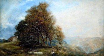 The Hill Top | Henry Clarence Whaite | oil painting
