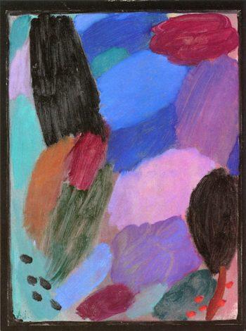 Variation -  Night II | Alexei von Jawlensky | oil painting