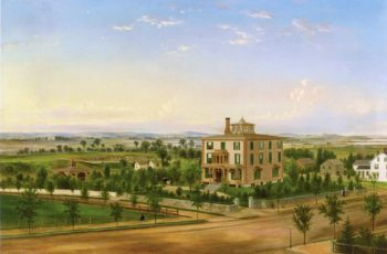 View of Flushing   American School th Century - Unknown   oil painting