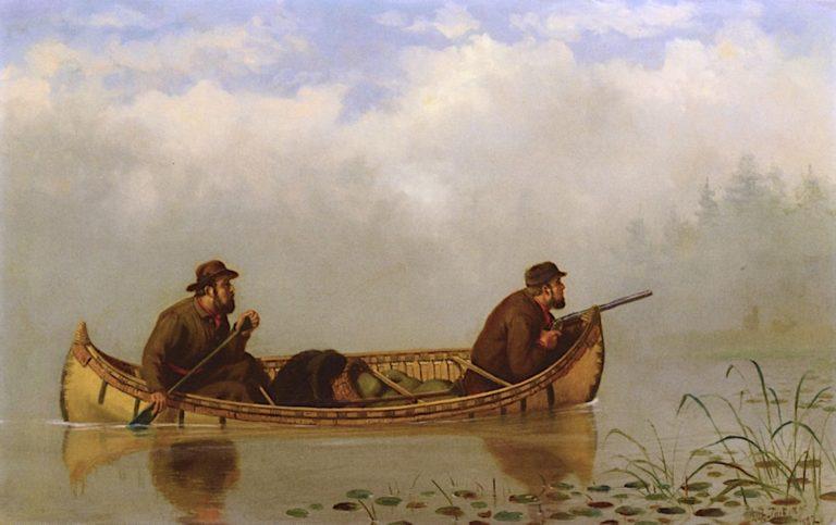 An Anxious Moment | Arthur Fitzwilliam Tait | oil painting