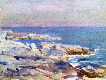 Isles of Shoals | Childe Hassam | oil painting