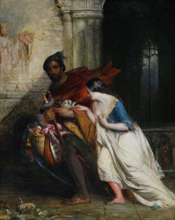 The Gow Chrom and the Glee Maiden | Robert Scott Lauder | oil painting