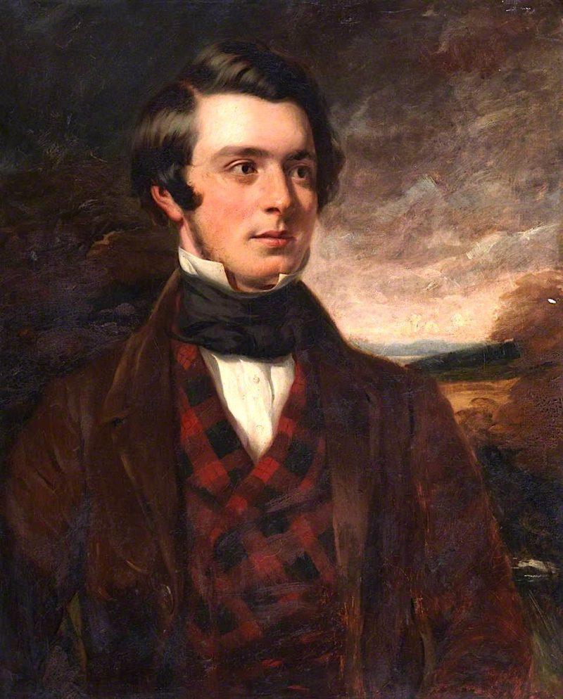 William Macfie of Clermiston | Robert Scott Lauder | oil painting