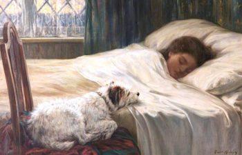 Devoted | Robert Morley | oil painting