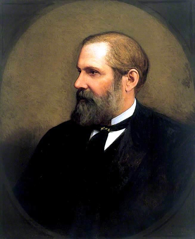 Henry Morley   Robert Morley   oil painting