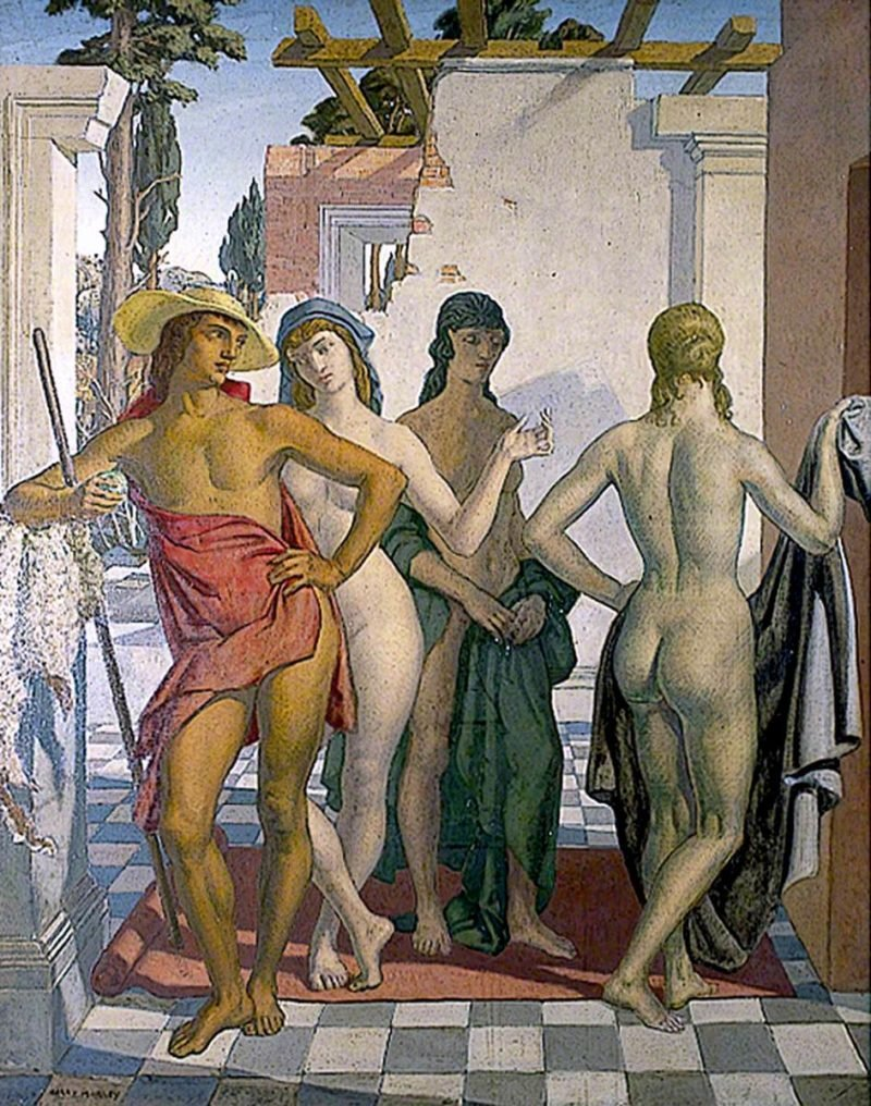 The Judgement of Paris   Harry Morley   oil painting