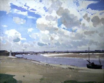 Summer Day on the Flats   Harry Watson   oil painting