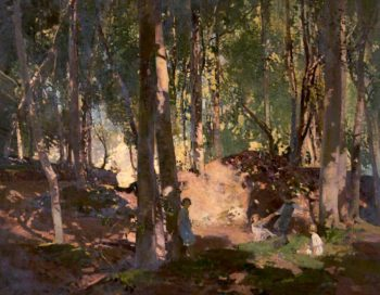 Morning in a Wood | Harry Watson | oil painting