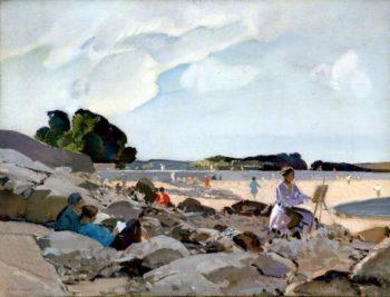 Seaside | Harry Watson | oil painting